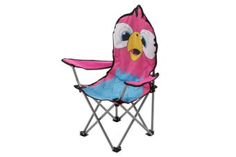 Regatta Great Outdoors Childrens/Kids Animal Camping Chair (Parrot/Pink) (One Size)