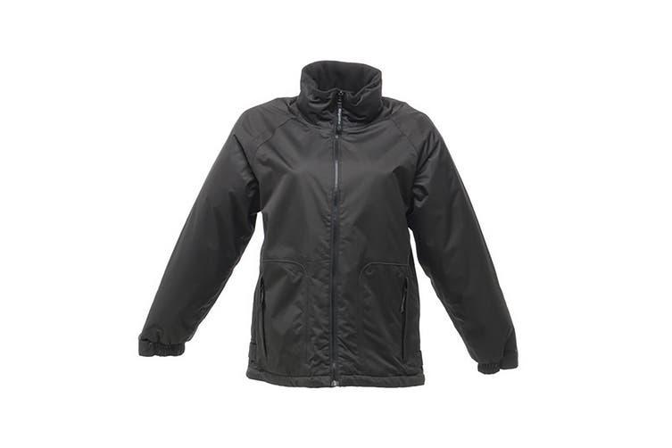 Regatta Great Outdoors Womens/Ladies Waterproof Zip Up Jacket (Black) (10)