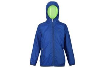 Regatta Great Outdoors Childrens/Kids Lever II Packaway Rain Jacket (Nautical Blue) (11-12 Years)