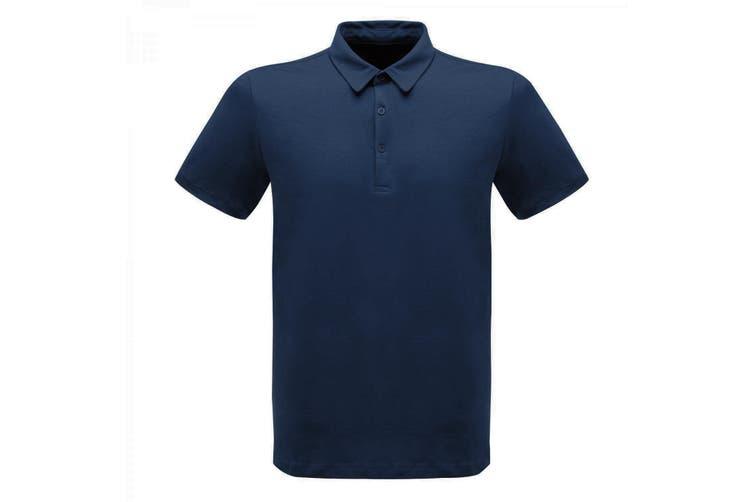 Regatta Professional Mens Classic 65/35 Short Sleeve Polo Shirt (Navy) (XXXL)