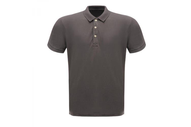 Regatta Professional Mens Classic 65/35 Short Sleeve Polo Shirt (Seal Grey) (XXXXL)