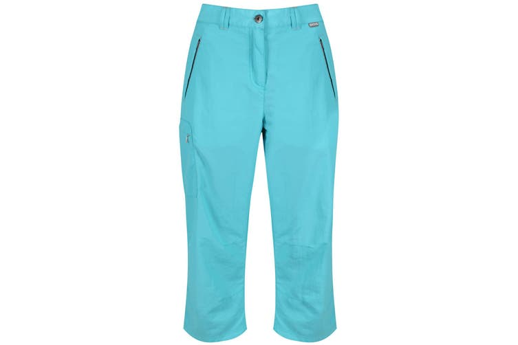 Regatta Great Outdoors Womens/Ladies Chaska 3/4 Capri Shorts (Horizon) (14)