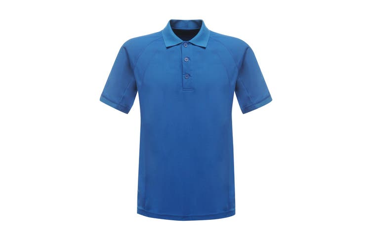 Regatta Professional Mens Coolweave Short Sleeve Polo Shirt (Oxford Blue) (XS)