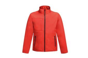 Regatta Professional Mens Octagon II Waterproof Softshell Jacket (Classic Red/Black) (L)