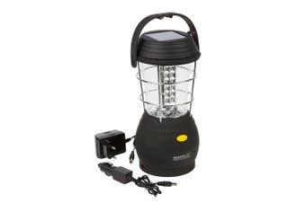 Regatta Great Outdoors Helia 36 Solar Camping Lantern (Black) (One Size)