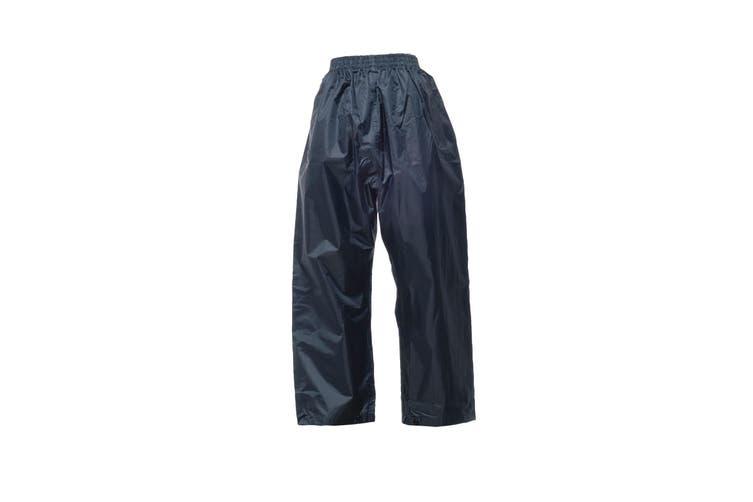 Regatta Professional Mens Pro Stormbreaker Waterproof Overtrousers (Navy) (M)