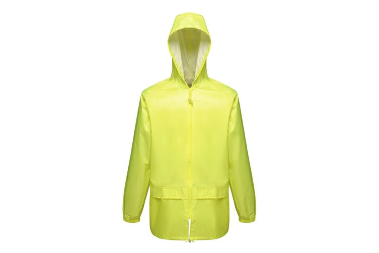Regatta Professional Mens Pro Stormbreaker Waterproof Jacket (Fluro Yellow) (M)
