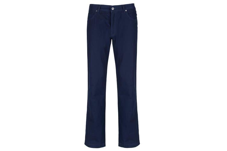 Regatta Great Outdoors Mens Landyn Casual Trousers (Navy) (36)