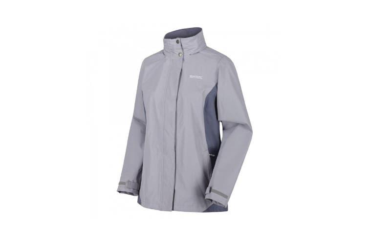 Regatta Great Outdoors Womens/Ladies Daysha Waterproof Shell Jacket (Dapple/Onyx Grey) (8 UK)