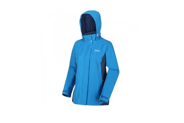 Regatta Great Outdoors Womens/Ladies Daysha Waterproof Shell Jacket (Blue Aster/Dark Denim) (12 UK)