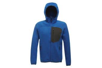 Regatta X-Pro Mens Coldspring Hybrid Hooded Fleece Jacket (Oxford Blue) (L)