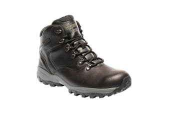 Regatta Great Outdoors Mens Bainsford Waterproof Leather Hiking Boots (Peat)