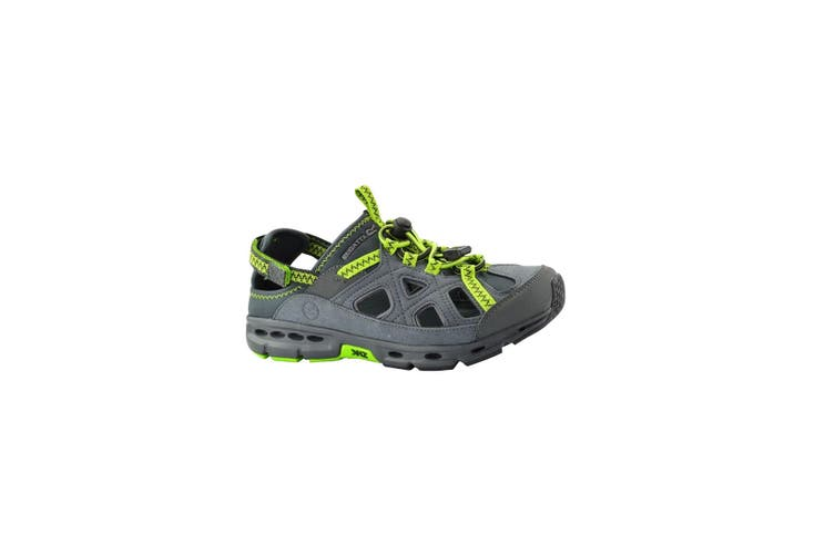 Regatta Great Outdoors Mens Ripcord Lightweight Trail Sandals (Briar/Lime Green) (10 UK)