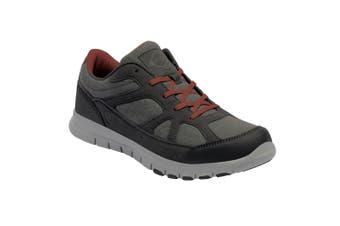 Regatta Great Outdoors Mens Varane Sport Lightweight Shoes (Granite/Orange) (9.5 UK)
