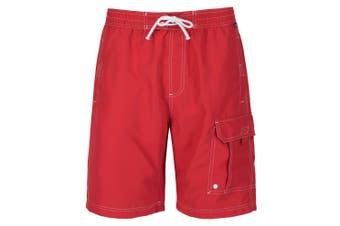 Regatta Great Outdoors Mens Hotham II Board Shorts (Pepper)