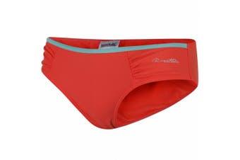 Regatta Great Outdoors Womens/Ladies Aceana High Leg Bikini Briefs (Neon Peach)