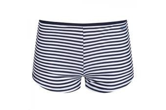 Regatta Great Outdoors Womens/Ladies Aceana Bikini Shorts (Navy Stripe)