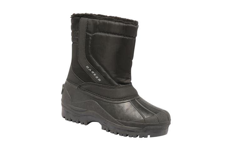 Dare 2B Childrens/Kids Zeppa Junior Waterproof Snow Boots (Black) (5 UK)