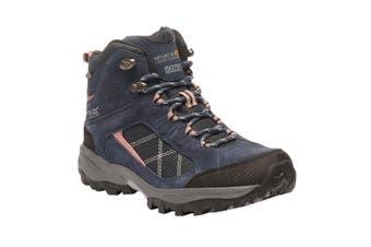 Regatta Great Outdoors Womens/Ladies Lady Clydebank Waterproof Hiking Boots (Navy/Ash Rose) (6 UK)
