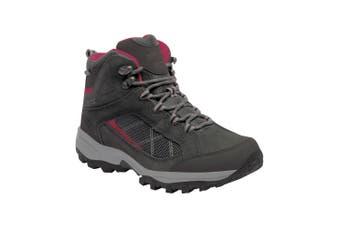 Regatta Great Outdoors Womens/Ladies Lady Clydebank Waterproof Hiking Boots (Briar/Dark Cerise) - UTRG2689