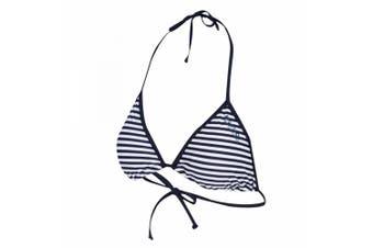 Regatta Great Outdoors Womens/Ladies Aceana Bikini String Top (Navy Stripe)