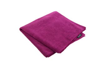 Regatta Great Outdoors Lightweight Large Compact Travel Towel (Dark Cerise) (One Size)
