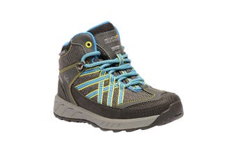 Regata Great Outdoors Childrens/Kids Samaris Hiking Boot (Briar/French Blue) (1 UK Junior)