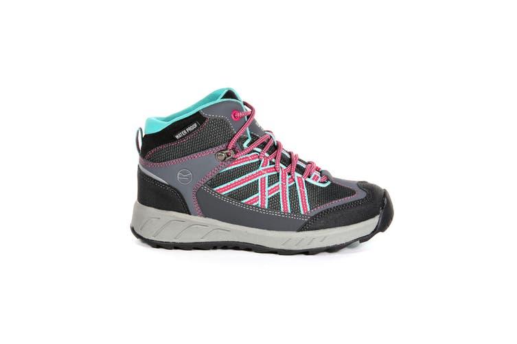 Regata Great Outdoors Childrens/Kids Samaris Hiking Boot (Granite/Duchess) (6 UK Junior)