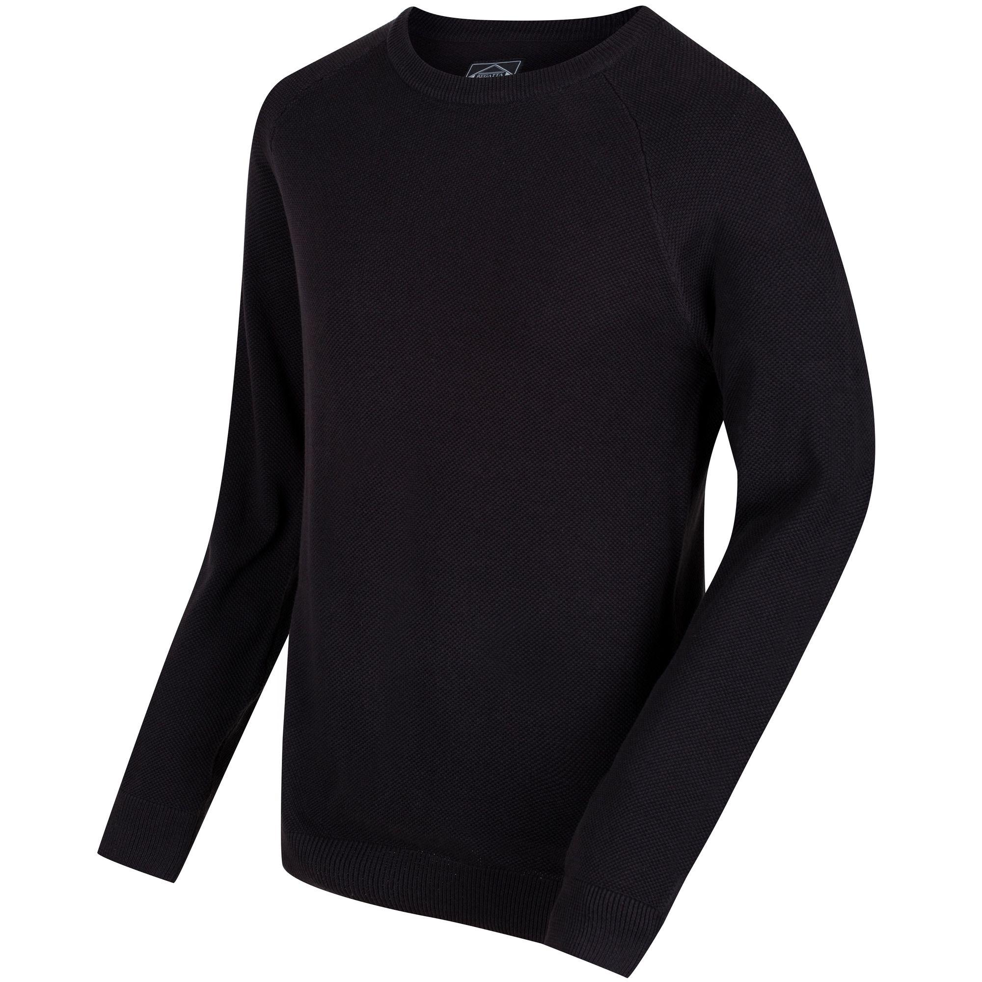 Regatta Mens Koby Mid Weight Cable Knit Sweater