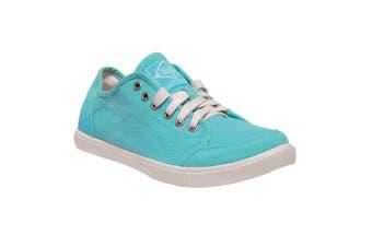 Regatta Womens/Ladies Turnpike Lite Lightweight Canvas Shoes (Horizon/White) (3 UK)