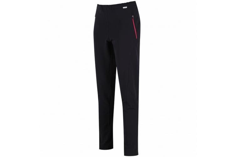 Regatta Womens/Ladies Pentre Stretch Trousers (Black) (18 Long Leg)