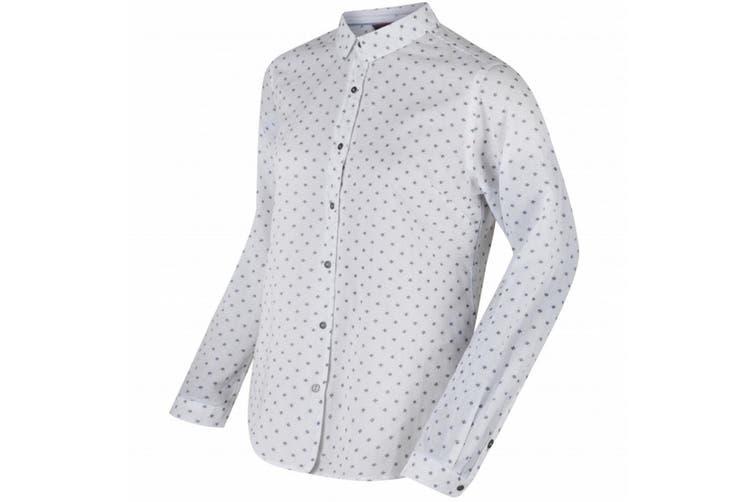 Regatta Womens/Ladies Meena Shirt (White) (14 UK)