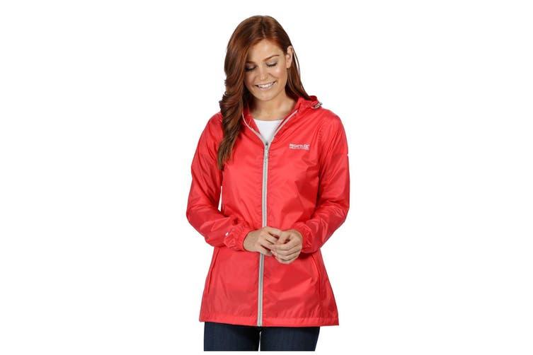 Regatta Womens/Ladies Pk It Jkt III Waterproof Hooded Jacket (Red Sky) (18 UK)