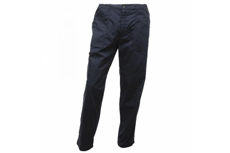 Regatta Mens Action Waterproof Trousers (Navy) (28R)