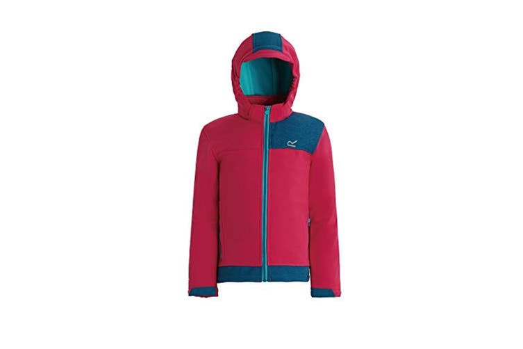Regatta Childrens/Kids Astrox Hooded Jacket (Duchess/Moroccan Blue) (5-6 Years)