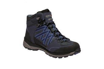 Regatta Womens/Ladies Samaris Mid II Hiking Boots (Navy/Blueberry Pie) - UTRG3701