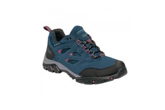 Regatta Womens/Ladies Holcombe IEP Low Hiking Boots (Moroccan Blue/Red Violet) - UTRG3704