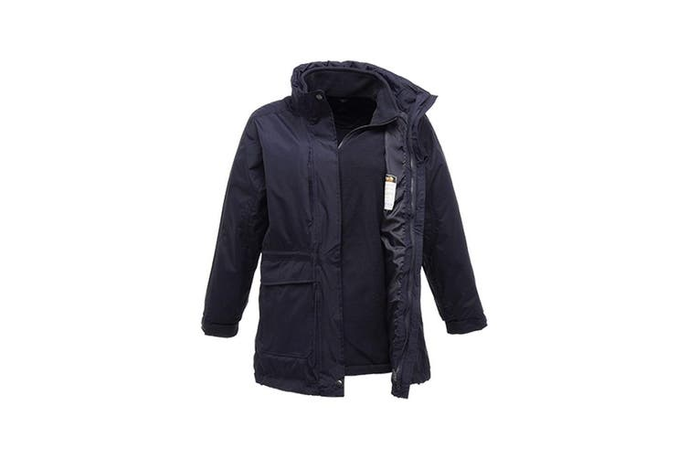 Regatta Womens/Ladies Benson III 3 In 1 Jacket (Navy) (UK Size 12)