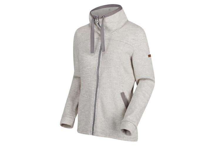 Regatta Womens/Ladies Odetta Full-Zip Fleece (Rock Grey) (16 UK)
