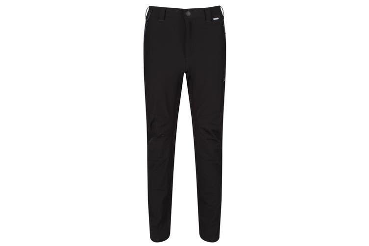 Regatta Mens Highton Hiking Trousers (Black) (38S)
