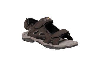 Regatta Mens Holcombe Vent Sandals (Peat/Parchment) (9.5 UK)