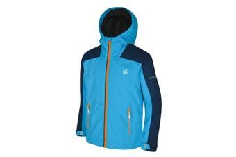 Dare 2B Childrens/Kids Avail Seamsmart Hooded Waterproof Jacket (Atlantic Blue/Clearwater Blue) (15-16 Years)