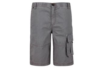 Regatta Kids Shorewalk Multi Pocket Shorts (Rock Grey) (7-8 Years)