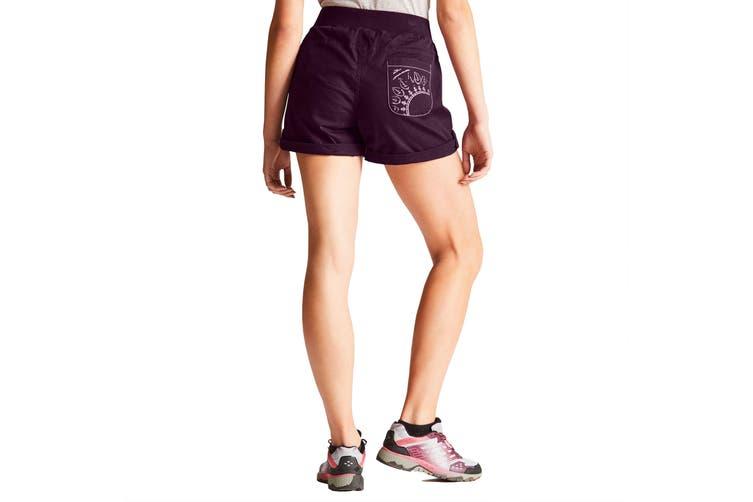 Dare2b Womens/Ladies Melodic II Multi Pocket Walking Shorts (Lunar Purple) (14 UK)