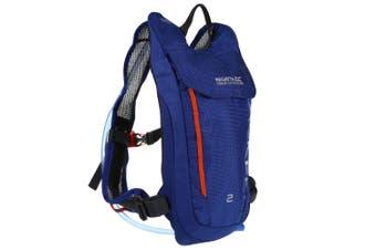 Regatta Blackfell III 2L Hydropack (Surfspray Blue/Blaze Orange) (One Size)