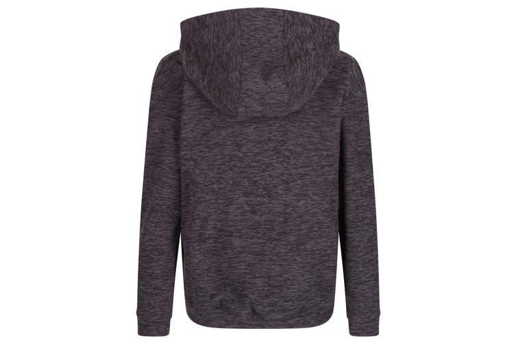 Regatta Childrens/Kids Keyon Hooded Fleece (Ash Grey) (7-8 Years)