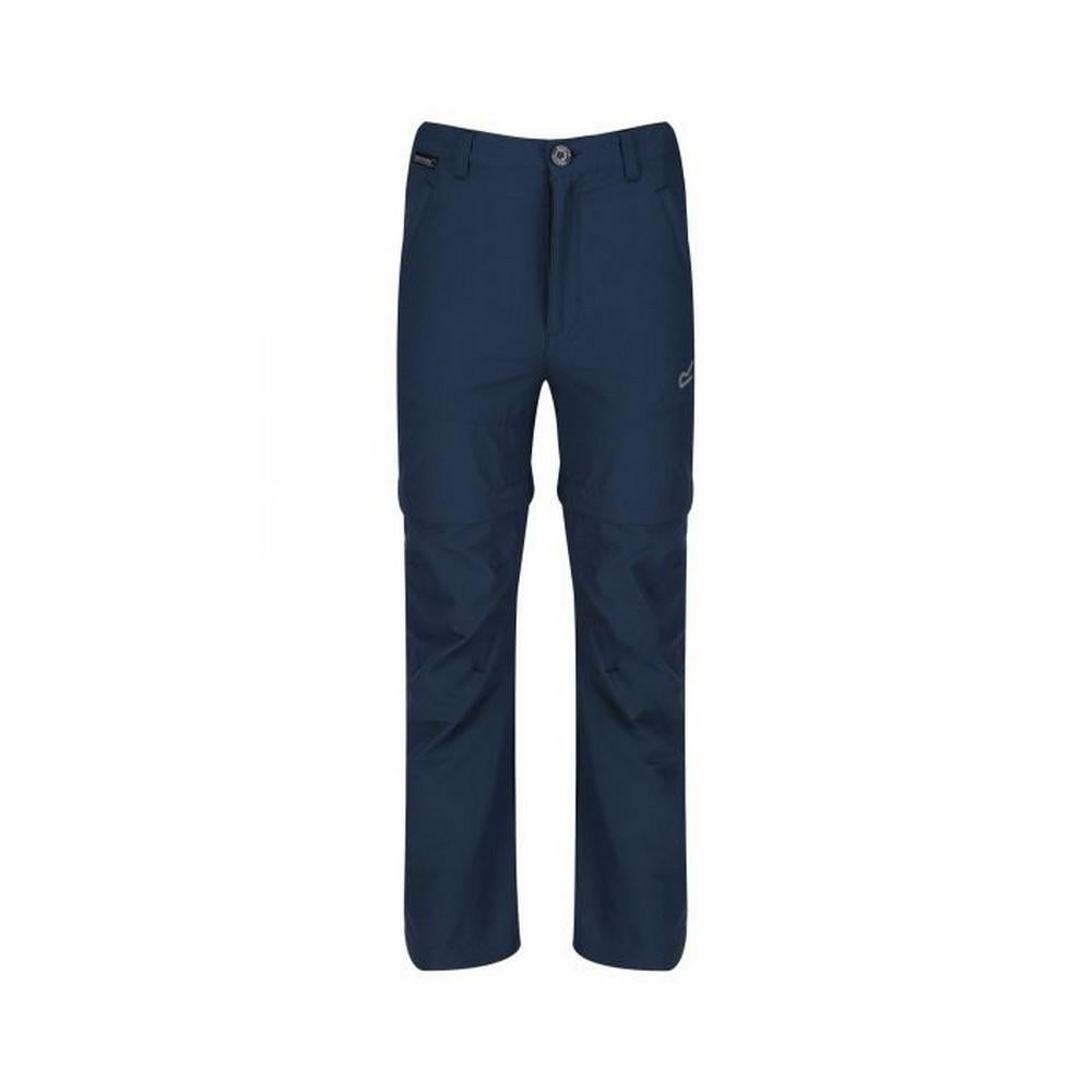 Regatta Boys Hikefell Zip Off Water Repellent Trousers
