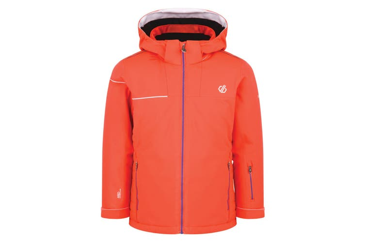 Dare 2B Childrens/Kids Entail Ski Jacket (Fiery Coral) (14 Years)