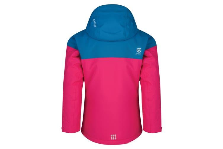 Dare 2B Childrens/Kids Entail Ski Jacket (Cyber Pink/Atlantic Blue) (11-12 Years)