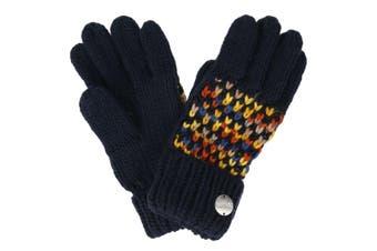 Regatta Womens/Ladies Frosty III Gloves (Navy) (S/M)